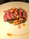 Duck, baies d'Argousier, chilis