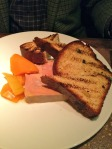 Foie gras terrine with squash